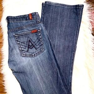 """7 for all Mankind """"A"""" Pocket Jean"""